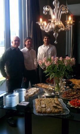Catering for Milkweed Publishing House @ Jim & John's!