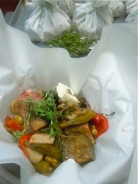 Kleftiko: Lamb Baked in Parchment with Vegetables & Feta