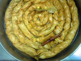 Traditional Forms of Baklava!  Saragli & Coiled Saragli