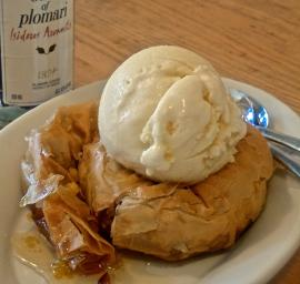 Another Pairing for Anna's Organic Ouzo Ice Cream! Baklava for Two!